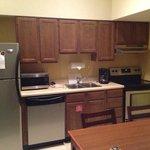 Older kitchen, new appliances, very clean