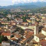 Panorama su Castel di Sangro - consiglio la passeggiata