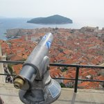 View across Dubrovnik Old Town