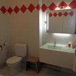 Renovierter Badbereich