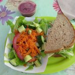 Half salad half sand deal