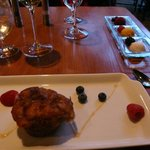 Stodgy bread pudding