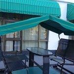 swing in the terrace in the terrace room