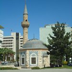 Mosque located on the Konak square nearby the tower