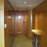 Suite Entrance Hallway