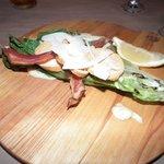 La salade César grillée