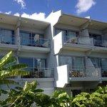 rooms have nice balconies