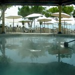 Hot spring therapy pool