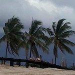 Playa Santa Maria Del Mar - Here comes the rain
