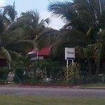 Playa Santa Maria Del Mar - Park area & restaurants