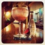 Gin-tonic Rosa
