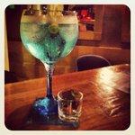 Gin-tonic Azul