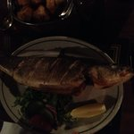 Grilled Sea Bass Superbly cooked!