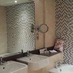 Junior Suite. Excellent bathroom facilities.