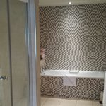 Large shower and bath