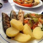 grilled sardines!!!