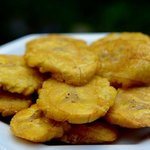 Green fried plantain