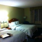 Apartamento com 02 camas queen size, microondas, frigobar, máquina de café, cofre, tabua e ferro