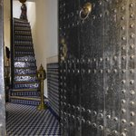 la porte de l'accueil à la marocaine !