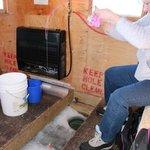 heated fish houses