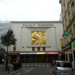 Folies Bergere just across the street