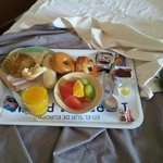 loved that breakfast could be taken to your room.