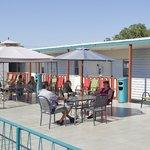 Roof Top Sun Deck & BBQ Area
