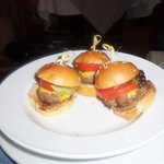 room service mini burgers
