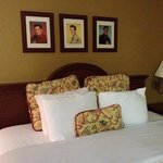 tastefully updated and clean rooms that make you feel like Elvis is a family member.