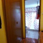 vista de baño desde habitacion