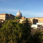 View of the Vatican from our room