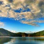 Evening SUP on Fantana Lake