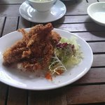Soft shell crab is superb