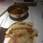 lamb masala with roti