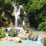 Kuang Si Falls—the hotel can arrange transportation