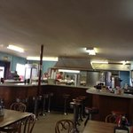 Inside view of the diner