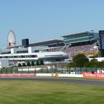The main Suzuka Circuit seating & paddock area