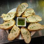 Table bread with chimi
