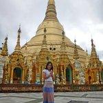 Me&Shwedagon Pagoda