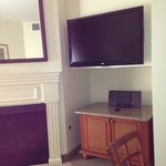 flat screen tv in livingroom