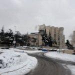 Иерусалим зима 2013 года