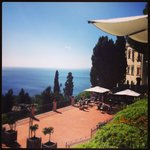 Lovely terrace at Grand Hotel San Pietro