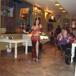 Belly dancer, opening night at OPA