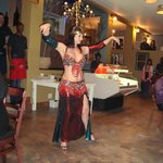 Belly dancer, opening night, OPA