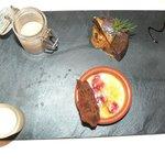 Chocolate dessert - 3 flavours