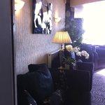 Beautifully decorated lounge