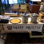 8 無料サービスの夜食の沖縄そば