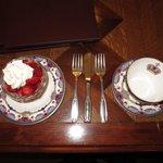 The strawberries & cream