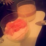 ''GUAVA PANNACOTTA AND TIRAMISU''