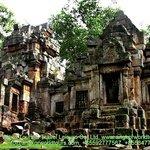 Aek Phnom Temple at BattamBang Province.